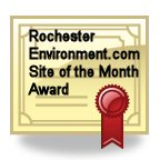 RochesterEnvironment.com's Environmental Site Award
